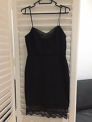 Zara little black dress Lace | Size S