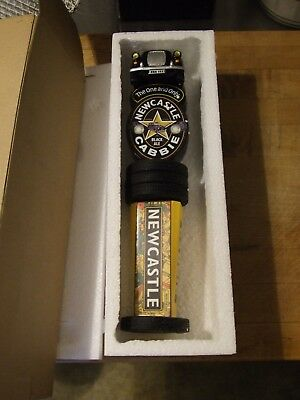 Beer Tap Handle Draft Knob New Castle Cabbie