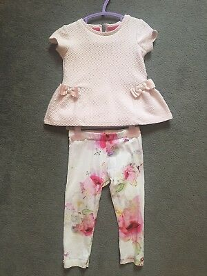 Baby Baker Outfit 12 - 18 Months Ted Baker Floral