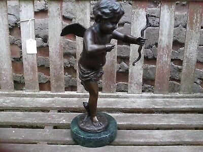 French Bronze Cupid.