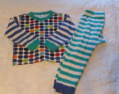 Vguc Hanna Andersson Boys Girls Pajamas Old Style Loose 100