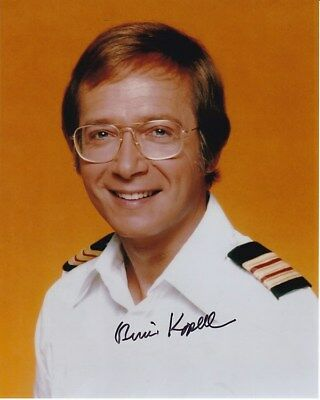 BERNIE KOPELL Signed Autographed THE LOVE BOAT DR. ADAM BRICKER Photo