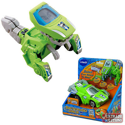 VTech Switch Go Dinos Lex T-Rex Transformer Car Vehicle Dinosaur Play Sound Kids