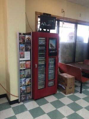 Reduced!!!  DVDNow S250 DVD BluRay Rental/Sale Kiosk Machine 2 units $3,800 each