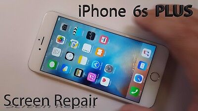 iphone 6s plus lcd screen replacement service with Free Temper Glass Protector