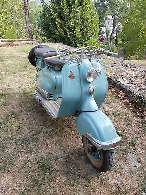 1956 Other Makes INNOCENTI  INNOCENTI LAMBRETTA 150 LD SCOOTER  1956year