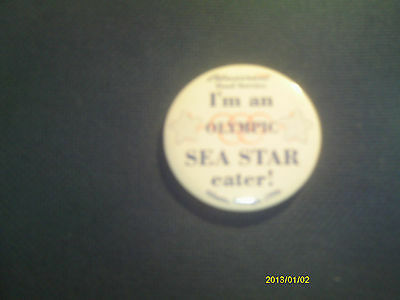 Bluecrest Food Service 1996 Atlanta Olympics Tin Badge