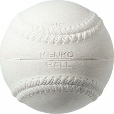 Markwort Kenko Practise-P White Baseball with Double Rubber Cover - 150ml