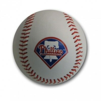MLB Philadelphia Philies Blank Leather Team Logo Baseballs. Rawlings