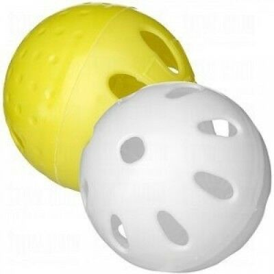 Stee-rike3 Professional Plastic Training Baseballs. Huge Saving