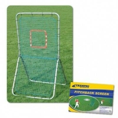 Champro Pitchback Screen (Silver/Green, Large/182.9cm x 106.7cm ). Best Price