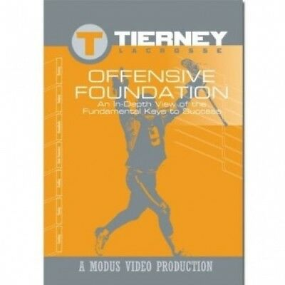 Tierney Lacrosse Offensive Foundation DVD. SEI. Delivery is Free