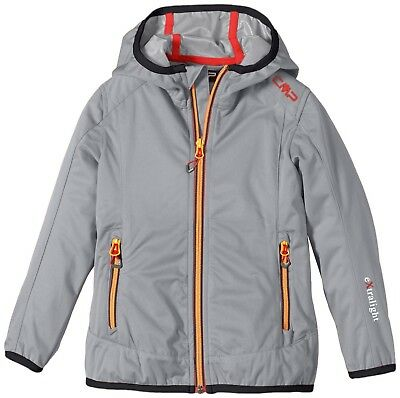 (17 years, grey - Grey M.) - CMP Girl's Softshell Jacket. Free Delivery
