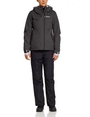(X-Large, Jet Black) - Bench Obsession Women's Functional Jacket