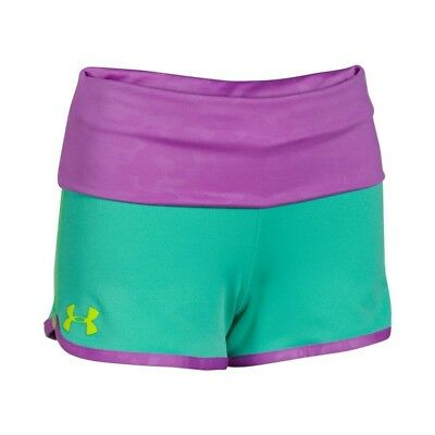 (YL, Mosaic/ Exotic Bloom/ Yellow Ray) - Under Armour Girls' UA Hype Rollover