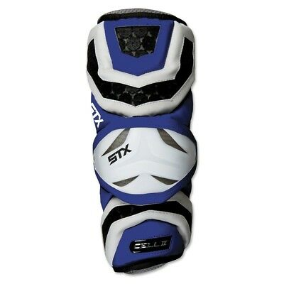 (X-Large, Royal Blue) - STX Lacrosse Cell 2 Arm Guards. Free Delivery