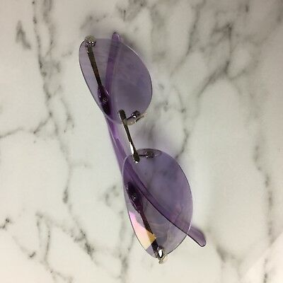 Vintage 90s Purple Oval sunglasses