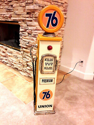 """42"""" 76 Gas Pump Cabinet with light. Mancave/Gameroom."""