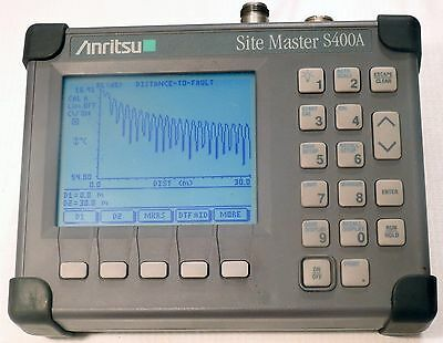Anritsu 1 Port Site Master S400A  + Zubehör (S 400 A) inklusive RF power monitor