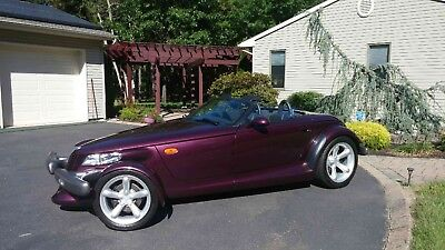 1997 Plymouth Prowler  1997 Plymouth Prowler with matching trailer