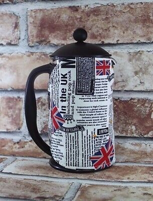 Cafetiere Cosy London Newspaper French Press Coffee Cozy
