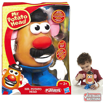 Playskool Mr Potato Head Toys Figure Eyes Nose Mouth Teeth Hat Mustache Tongue