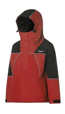 (7-8 Years, Rescue Red/Black) - Keela Kids Munro Jacket. Shipping Included