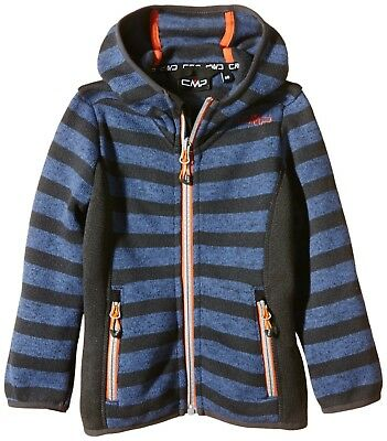 (5 years, Green - B.Ck Olive-Stone) - CMP Girl's Fleece Jacket. Shipping is Free