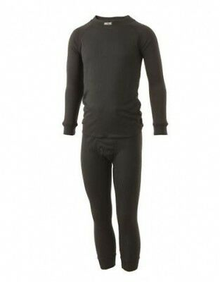 (Age 5-6) - Five seasons SuperKids Thermals Set Black. Shipping Included