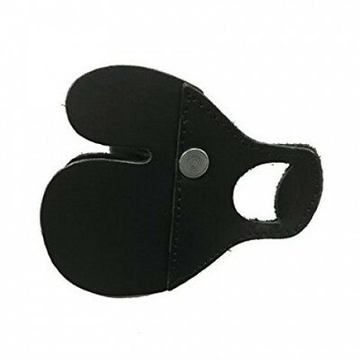 (Medium, Left Hand) - Summit Black Finger Tab (with Spacer). Shipping is Free