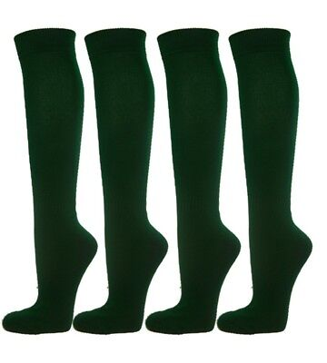 (Small, Dark Green) - Knee High Premium Quality Sports Athletic Baseball