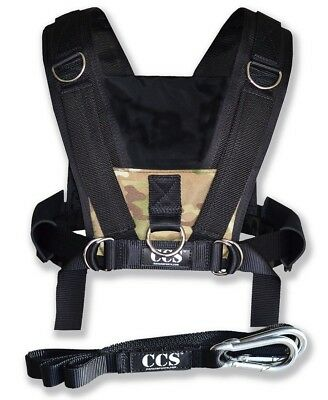 CCS Camo Sled Harness with Pull Strap. Shipping Included