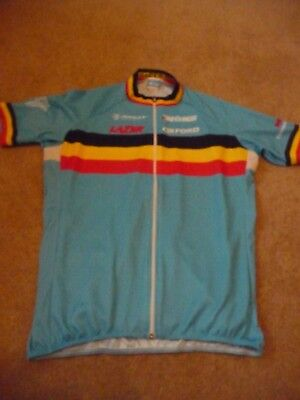 Bio-Racer Eddy Merckx Blue Large Mens Cycling Jersey - Excellent Condition