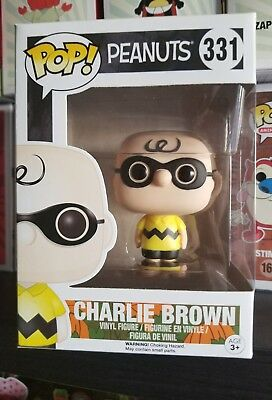 Charlie Brown Halloween Figure...peanuts.....funko # 331...pop !