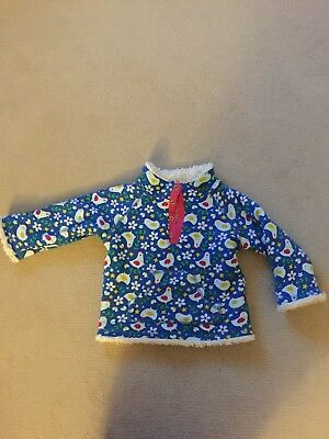 Frugi 12-18 Snuggle fleece