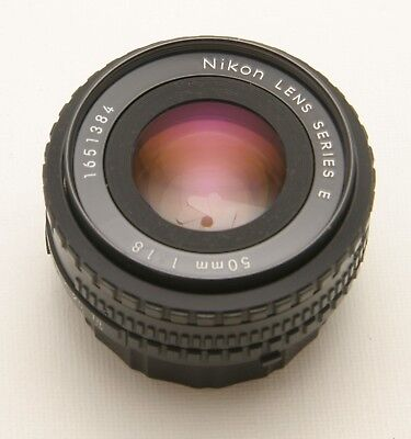 Nikon AI-S 50mm f1.8 Series E in Excellent+ Condition