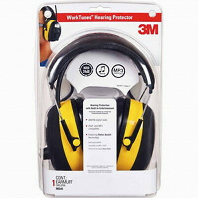 3M Worktunes Hearing Protector AM/FM Ipod Voice Assist 90541