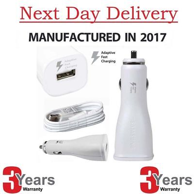 Genuine Samsung Dual Port In Car Fast Charger Adapter For Galaxy Note 5 4 S7 S6