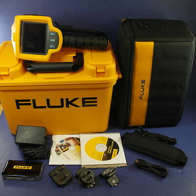 Fluke TiS Thermal Imager Imaging Camera, Near Mint Condition!Lots of Accessories