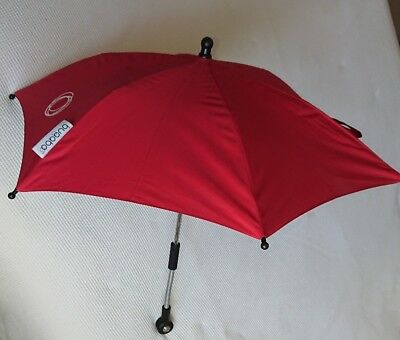 Bugaboo Parasol Red rain and sun pram pushchair umbrella cover shield protect