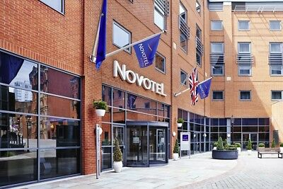 Novotel Manchester Central 4 Star Family Room Double +Sofa Bed Saturday 23/09/17