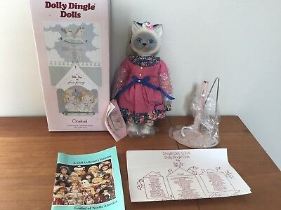 """Goebel Dolly Dingle """"Quirky Quickly"""" Cat Doll"""