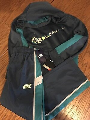 NWT Nike Boy Hoodie And Pants Outfit. Size 6.
