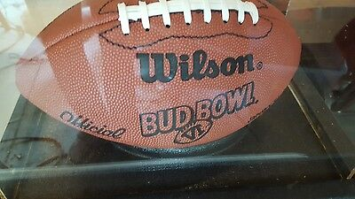 Bud  Bowl vI football in disay case