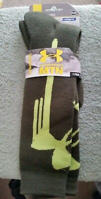 Under Armour Socks snow sports  MTN Athletic YLG Youth NEW