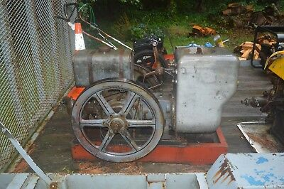 Mudge/Fairmont Stationary Engine railroad connection make and brake