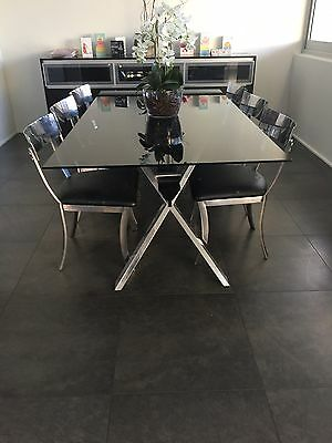 Stylish 9 Piece Dining Suite