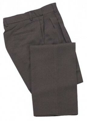 (110cm , Charcoal Gray) - Adams USA Smitty Expanded Waist Pleated Baseball