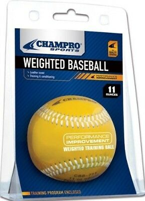 (330ml) - Champro Weighted Baseball Cover, Package (Yellow, 330ml)
