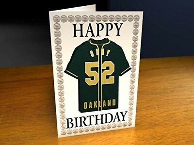 (Oakland Athletics MLB Fridge Magnet Card) - MAJOR LEAGUE BASEBALL FRIDGE